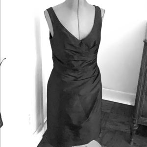 ALFRED SUNG COCKTAIL DRESS.